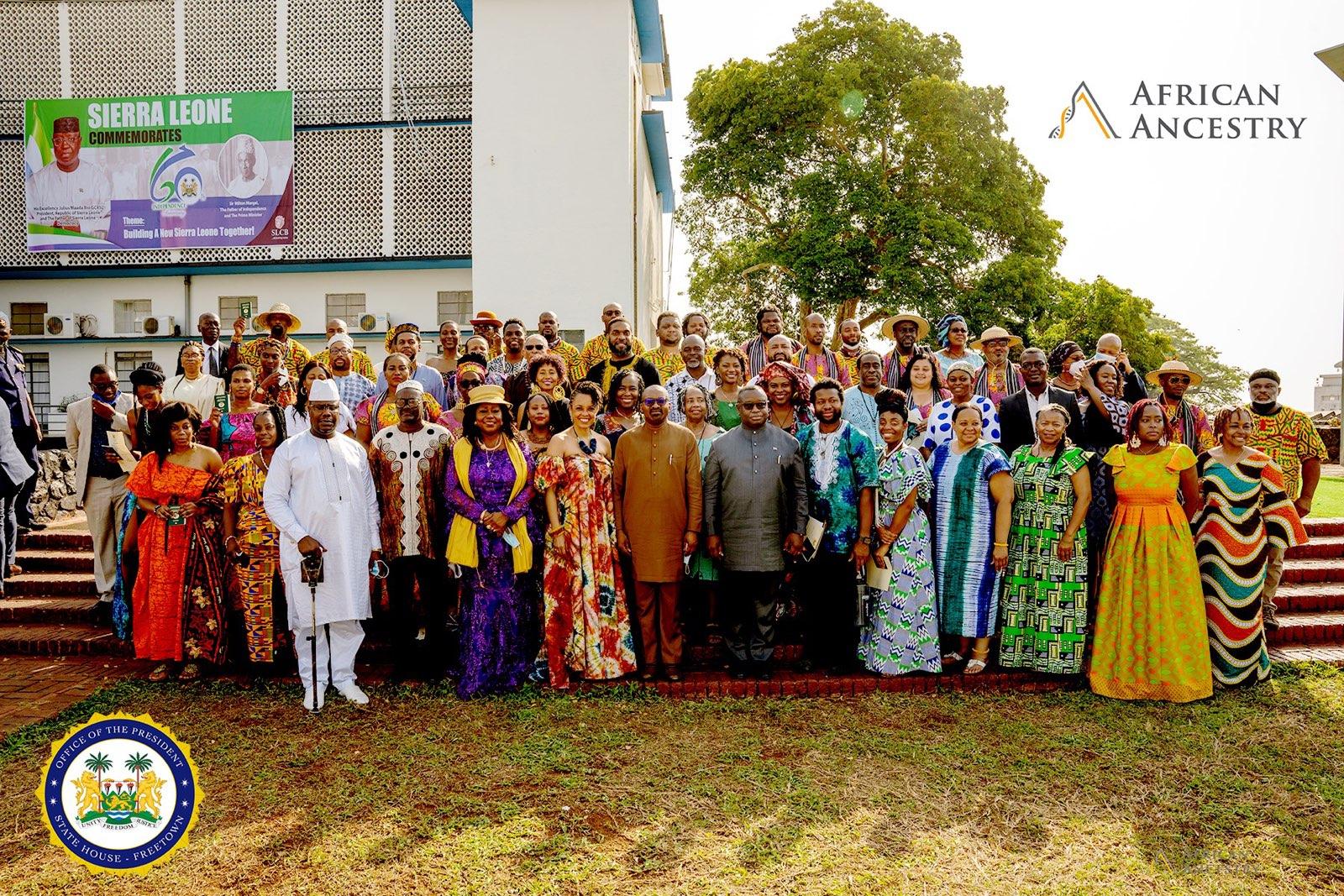 Inaugural Sierra Leone Citizens Under New Partnership